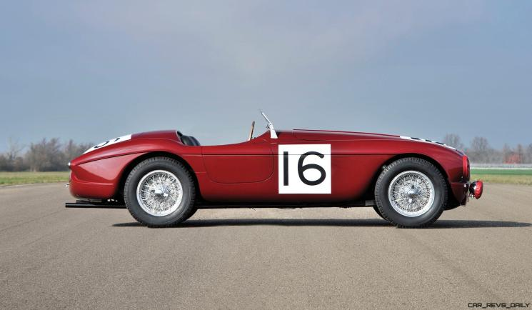 1951 Ferrari 340 America Barchetta by Touring (RHD) 5