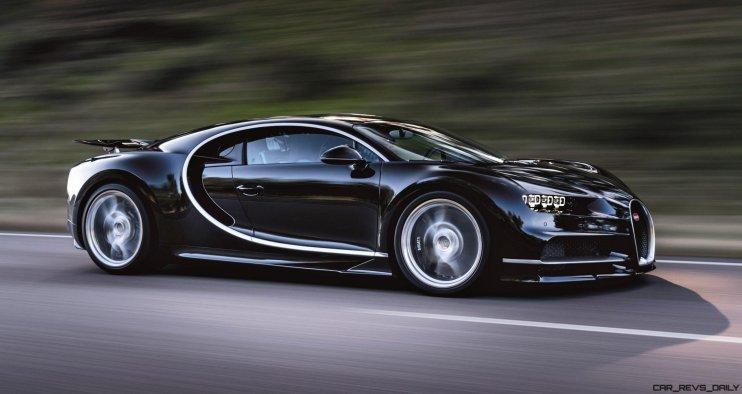2017 Bugatti CHIRON Black Dynamic 1