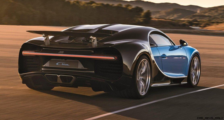 2017 Bugatti CHIRON Black Dynamic 13