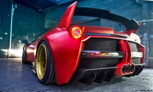 Ferrari 458 Widebody by MISHA Designs 5