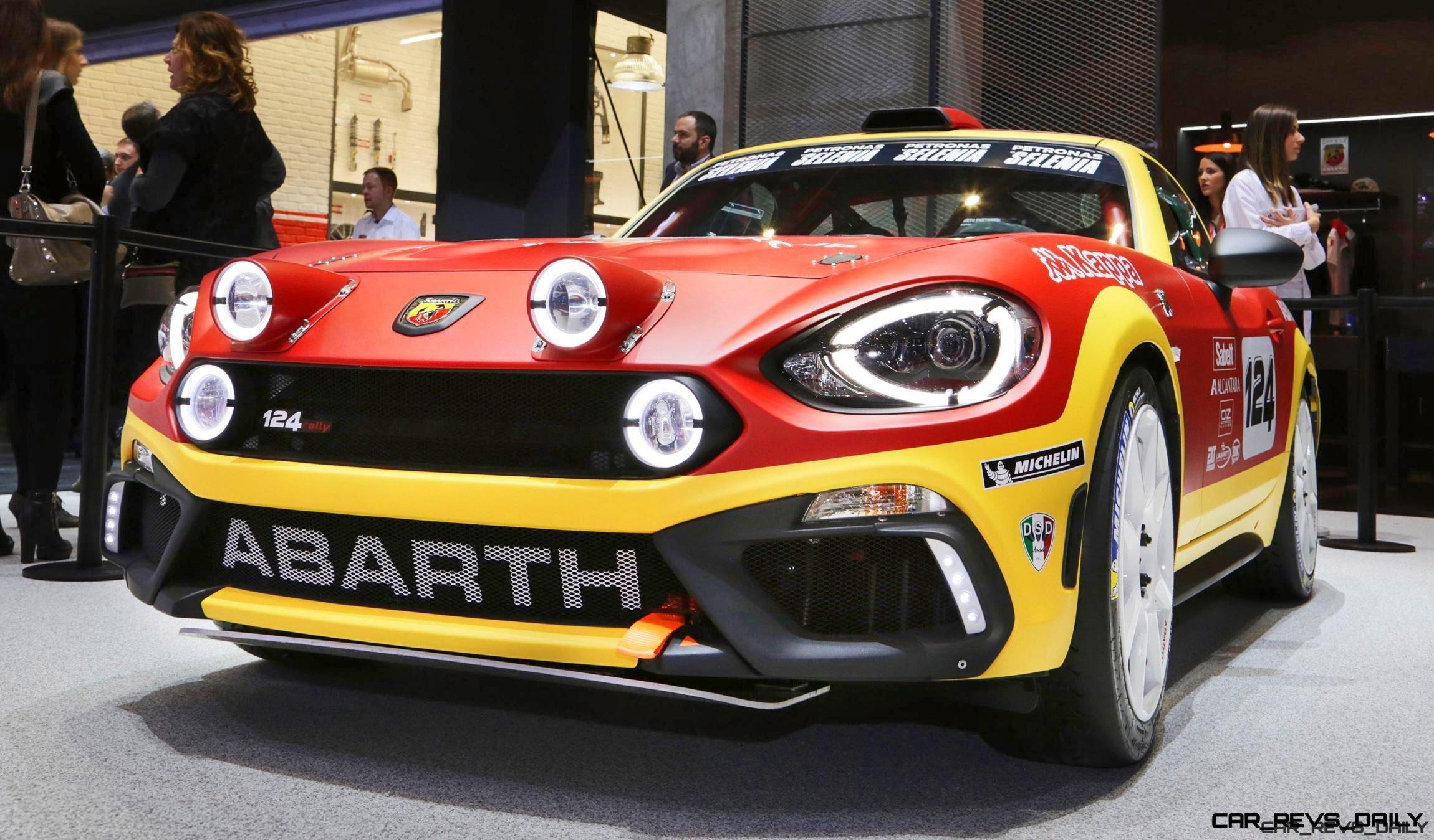 2016 Abarth 124 Rally Prototype 5