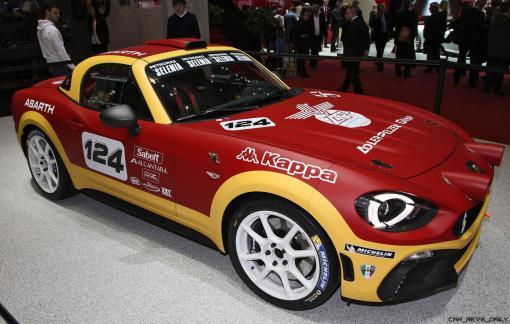 2016 Abarth 124 Rally Prototype 7