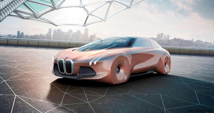 2016 BMW Vision Next 100 Concept 2