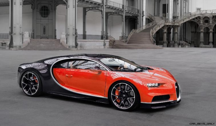 2017 Bugatti CHIRON - Color Visualizer - Draft Renderings 106