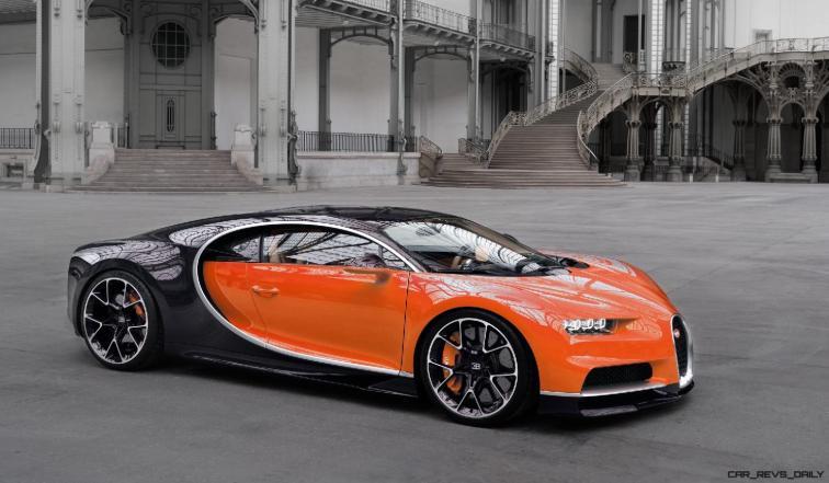2017 Bugatti CHIRON - Color Visualizer - Draft Renderings 107