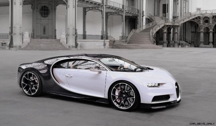 2017 Bugatti CHIRON - Color Visualizer - Draft Renderings 112