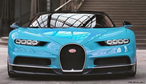 2017 Bugatti CHIRON - Color Visualizer - Draft Renderings 13