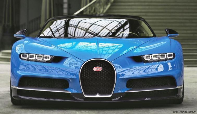 2017 Bugatti CHIRON - Color Visualizer - Draft Renderings 15