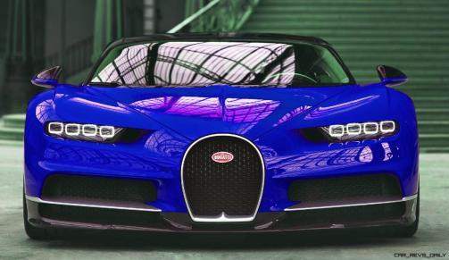 2017 Bugatti CHIRON - Color Visualizer - Draft Renderings 22