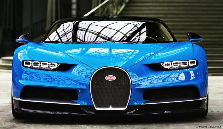 2017 Bugatti CHIRON - Color Visualizer - Draft Renderings 27