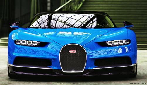 2017 Bugatti CHIRON - Color Visualizer - Draft Renderings 29