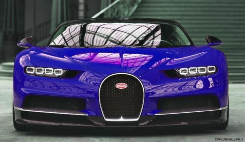 2017 Bugatti CHIRON - Color Visualizer - Draft Renderings 3