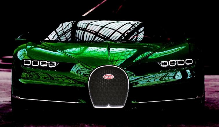 2017 Bugatti CHIRON - Color Visualizer - Draft Renderings 32