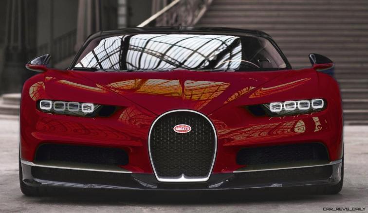 2017 Bugatti CHIRON - Color Visualizer - Draft Renderings 34
