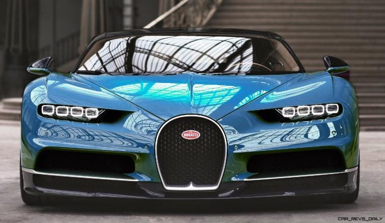 2017 Bugatti CHIRON - Color Visualizer - Draft Renderings 37