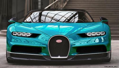 2017 Bugatti CHIRON - Color Visualizer - Draft Renderings 38
