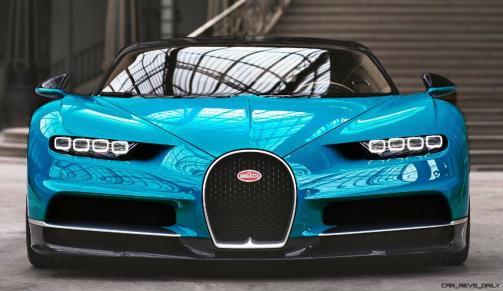 2017 Bugatti CHIRON - Color Visualizer - Draft Renderings 39