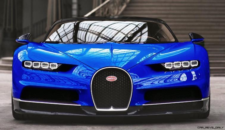 2017 Bugatti CHIRON - Color Visualizer - Draft Renderings 41