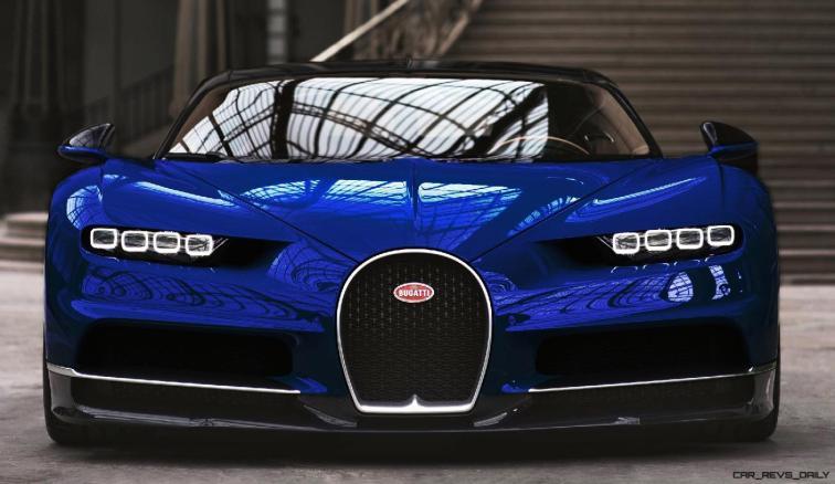 2017 Bugatti CHIRON - Color Visualizer - Draft Renderings 43