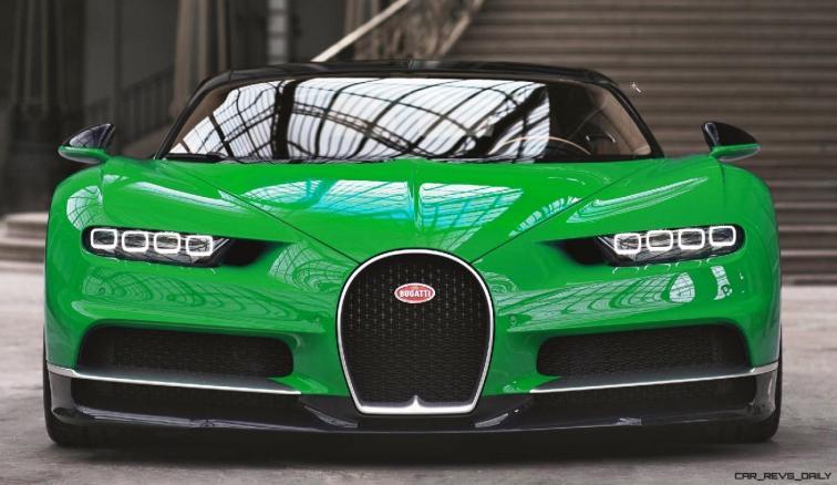 2017 Bugatti CHIRON - Color Visualizer - Draft Renderings 44