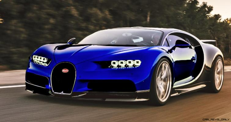 2017 Bugatti CHIRON - Color Visualizer - Draft Renderings 51
