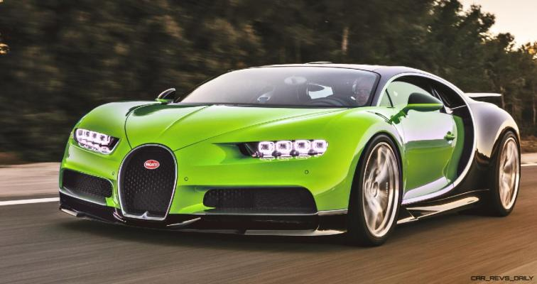 2017 Bugatti CHIRON - Color Visualizer - Draft Renderings 55