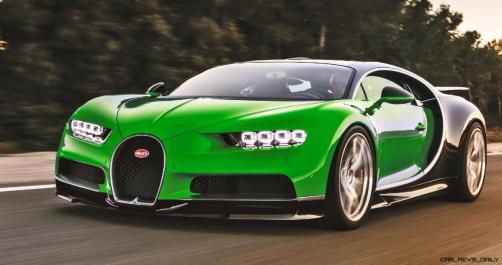 2017 Bugatti CHIRON - Color Visualizer - Draft Renderings 56