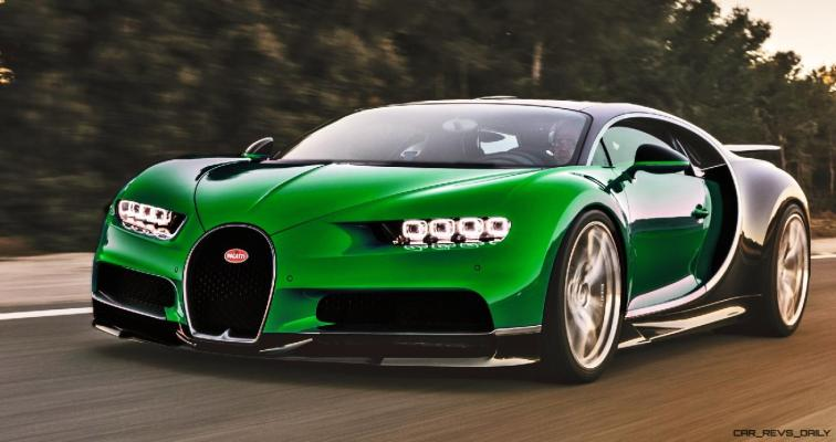 2017 Bugatti CHIRON - Color Visualizer - Draft Renderings 61