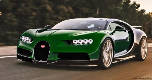 2017 Bugatti CHIRON - Color Visualizer - Draft Renderings 65