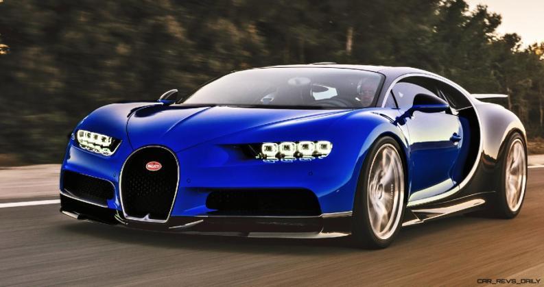 2017 Bugatti CHIRON - Color Visualizer - Draft Renderings 68