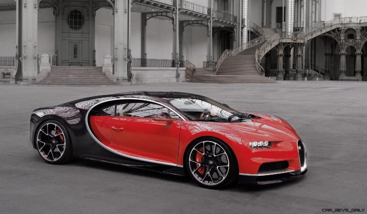 2017 Bugatti CHIRON - Color Visualizer - Draft Renderings 70