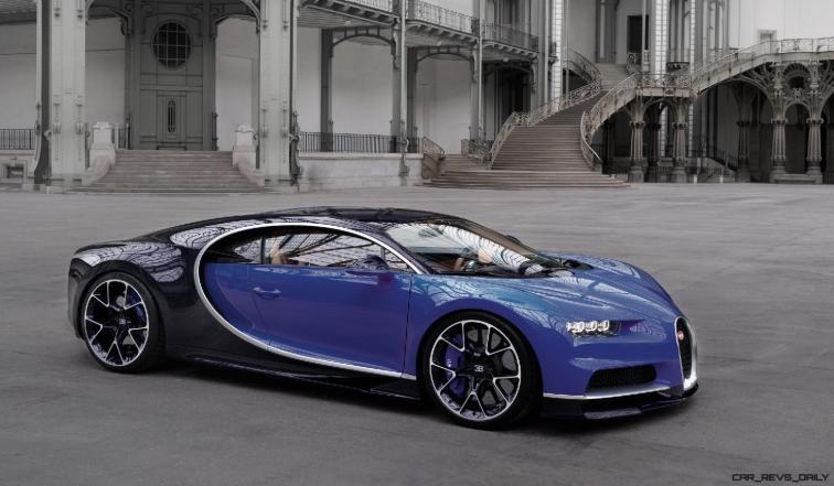 2017 Bugatti CHIRON - Color Visualizer - Draft Renderings 73