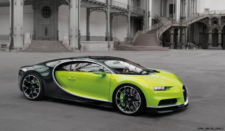 2017 Bugatti CHIRON - Color Visualizer - Draft Renderings 78