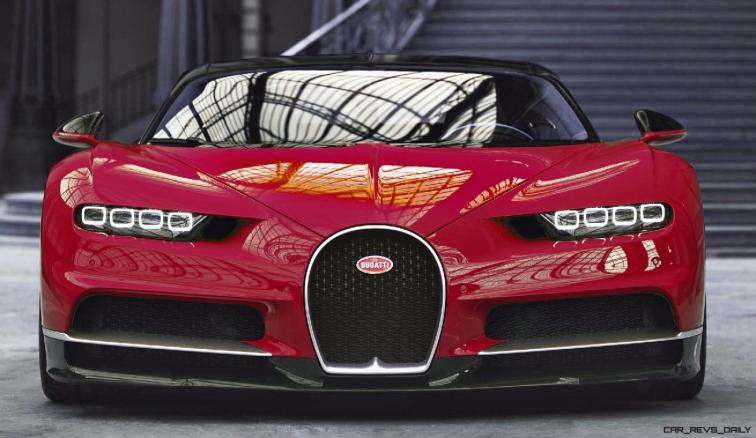 2017 Bugatti CHIRON - Color Visualizer - Draft Renderings 8