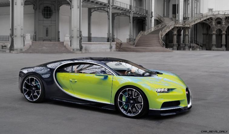 2017 Bugatti CHIRON - Color Visualizer - Draft Renderings 82