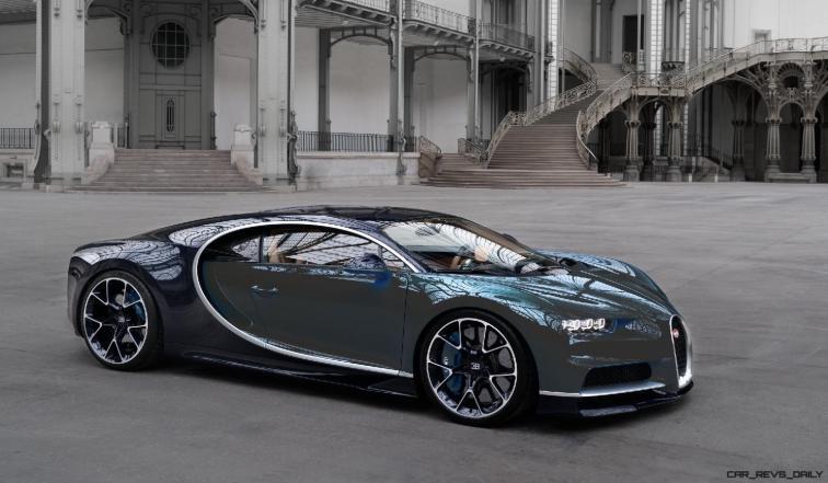2017 Bugatti CHIRON - Color Visualizer - Draft Renderings 87