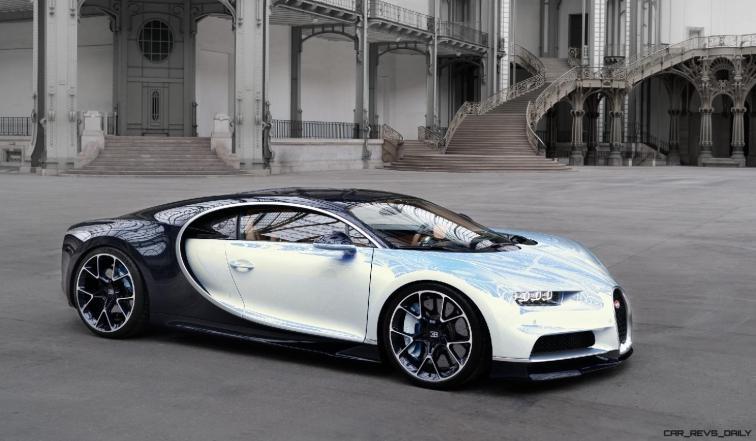 2017 Bugatti CHIRON - Color Visualizer - Draft Renderings 88