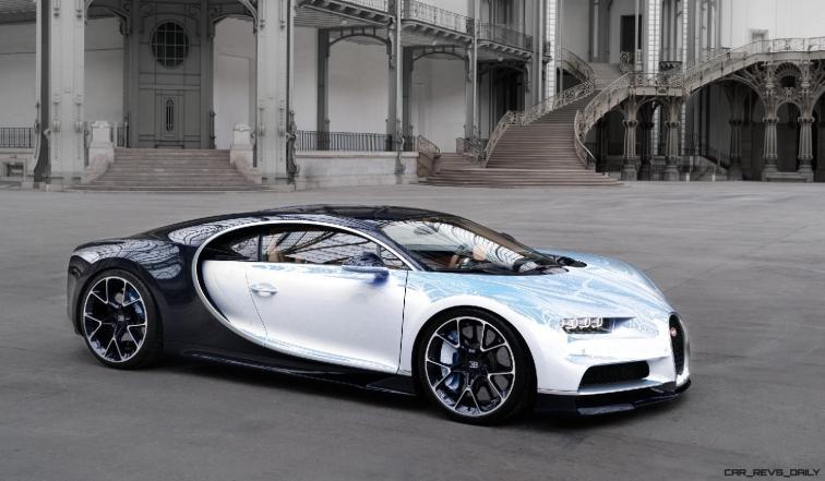 2017 Bugatti CHIRON - Color Visualizer - Draft Renderings 89
