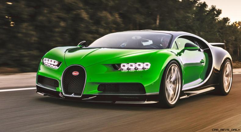 2017 Bugatti CHIRON - Colors 10
