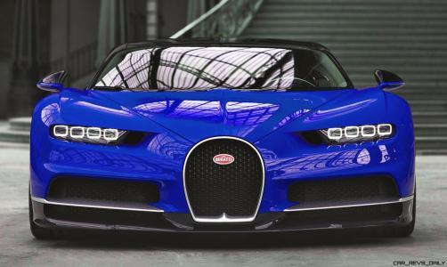 2017 Bugatti CHIRON - Colors 12