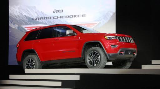 2017 Jeep Grand Cherokee TRAILHAWK 10