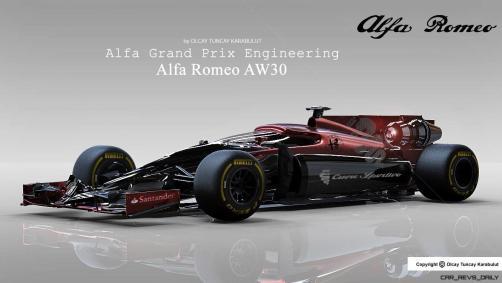 Alfa Romeo AW30 4