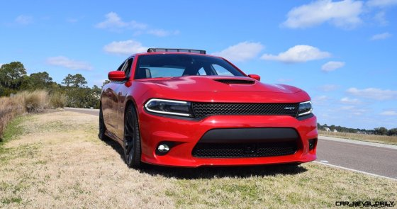 HD Road Test Review - 2016 Dodge Charger SRT392 16