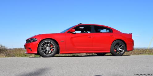 HD Road Test Review - 2016 Dodge Charger SRT392 55