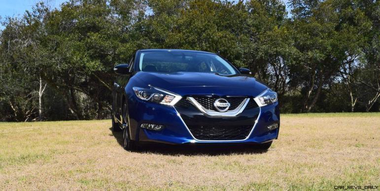 HD Road Test Review - 2016 Nissan Maxima SR 29