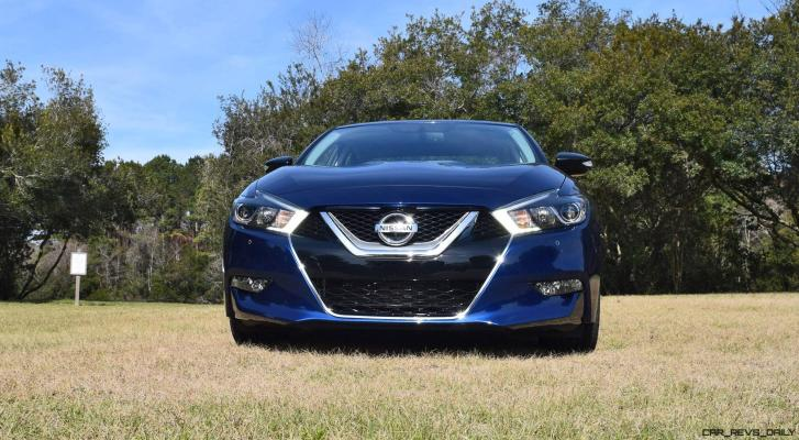 HD Road Test Review - 2016 Nissan Maxima SR 38