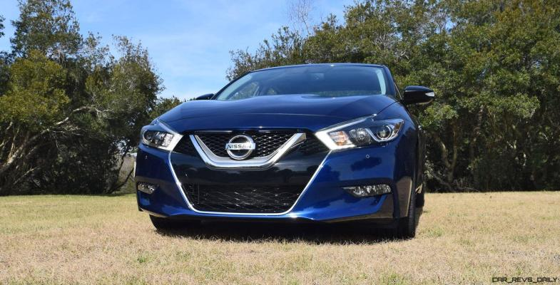 HD Road Test Review - 2016 Nissan Maxima SR 39