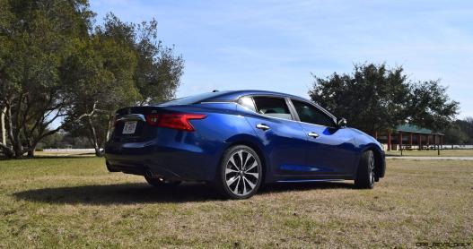 HD Road Test Review - 2016 Nissan Maxima SR 54