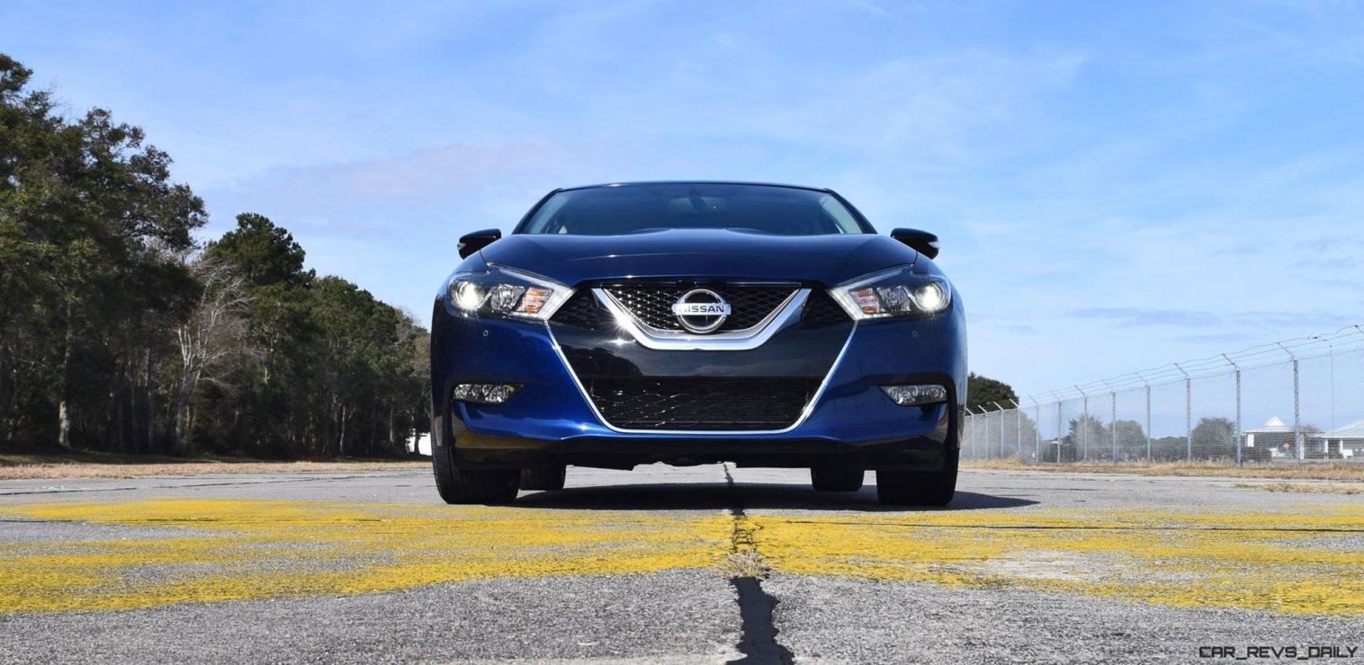 HD Road Test Review - 2016 Nissan Maxima SR 79
