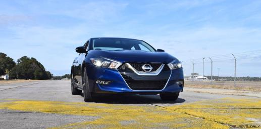 HD Road Test Review - 2016 Nissan Maxima SR 81